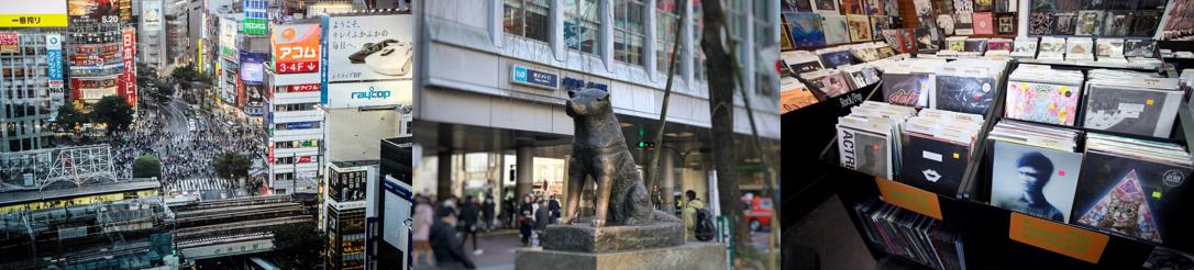 渋谷の観光スポット