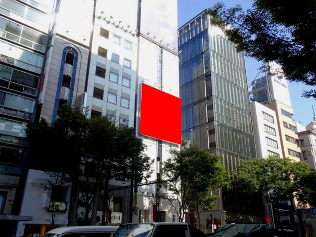 銀座天賞堂ビル(壁面)